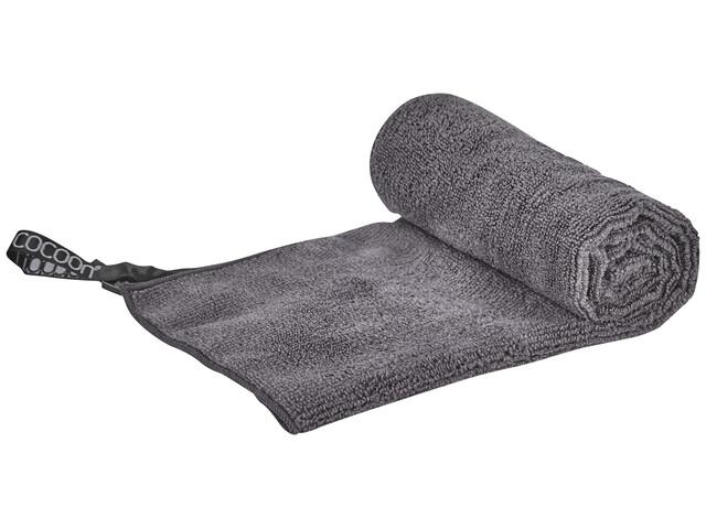 Cocoon Microfiber Terry - Serviette de bain - Light Medium gris